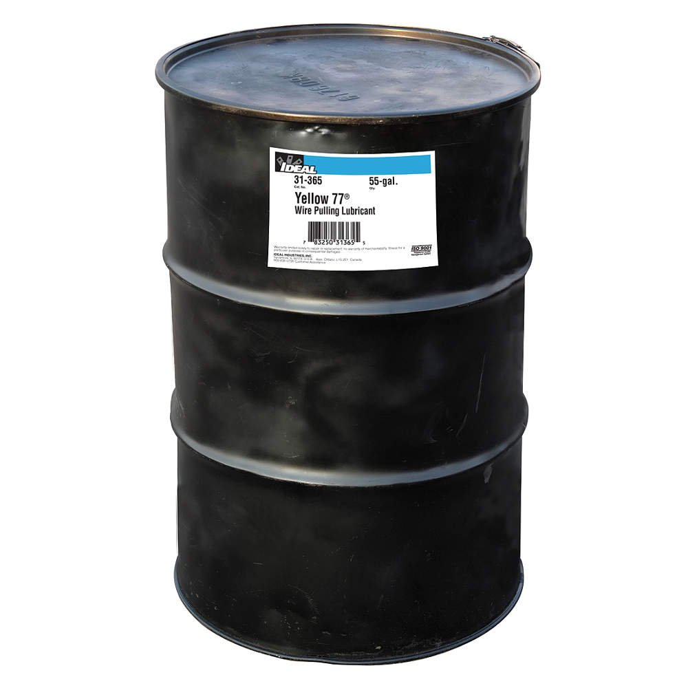 Ideal 31-365 Yellow 77 Wire Pulling Lubricant 55-Gallon Drum ...