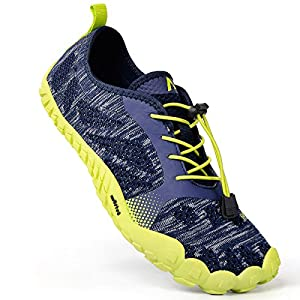 Feetmat Men's Trail Running Shoes Lightweight Breathable Sneakers Gym Walking Water Shoes