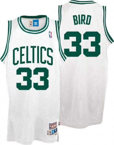 93441801508 Amazon.com : Larry Bird Boston Celtics NBA Swingman Hardwood ...