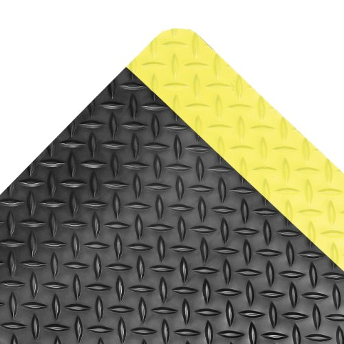 NoTrax Vinyl 479 Cushion Trax Anti-Fatigue Mat, for Heavy-Traffic Dry Areas, 3' Width x 12' Length x 9/16