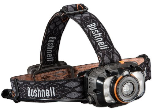 Bushnell Rubicon H250L AD 250 Lumens 3AA LED Headlamp with Auto Dimming