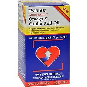Krill Essentials Omega-3 Cardio Krill Oil Twinlab, Inc 60 Softgel