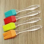Random color 1pc silicone baking bakeware bread cook pastry oil cream bbq tools basting brush zsjhtc 6 non-toxic and environmentally friendly. Multipurpose kitchen utensil tool. Can be used repeatedly. Easy-to-clean and good temperature resistance.