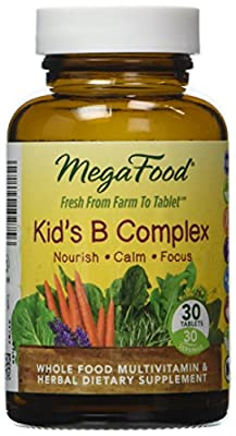 MegaFood Kid's B Complex Tablets