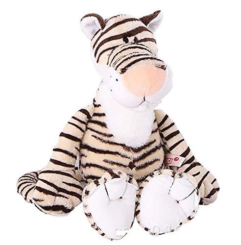 WATOP Stuffed Animals - Teddy Bears | Candice guo NICI Plush Toy Stuffed Doll Jungle Forest Animal Lion Tiger Monkey Giraffe Birthday 1pc (Tiger-About 35cm)