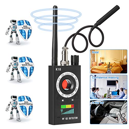 Innoo Tech Anti Spy Detector & Camera Finder RF Signal Detector GPS Bug Detector Hidden Camera Detector for GSM Tracking…