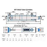CWA Hydraulics WT Weld Cross Tube Hydraulic