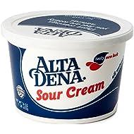 Alta Dena Sour Cream All Natural, 16 oz