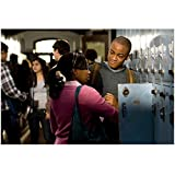 Fame (2009) Collins Pennie as Malik Washburn with Naturi Naughton as Denise Dupree at a locker 8 x 10 Inch Photo