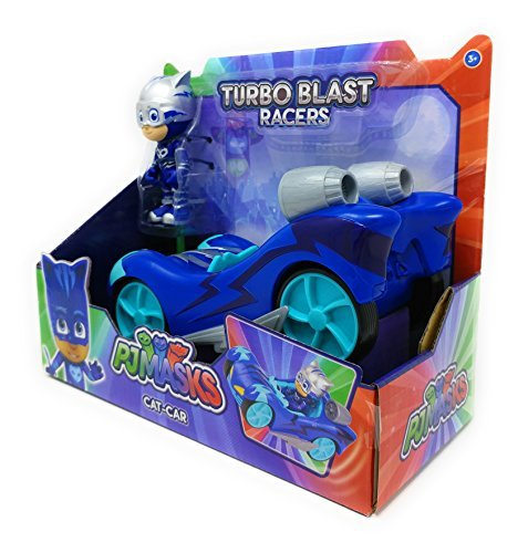 Pj Masks Turbo Blast Racers - CAT-CAR: Home & Kitchen