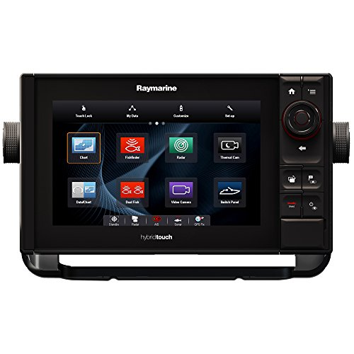 Raymarine ES97 Multifunction Display with Wi-Fi, Built-in 600W Digital Sounder & Lighthouse USA Vector Charts, 9
