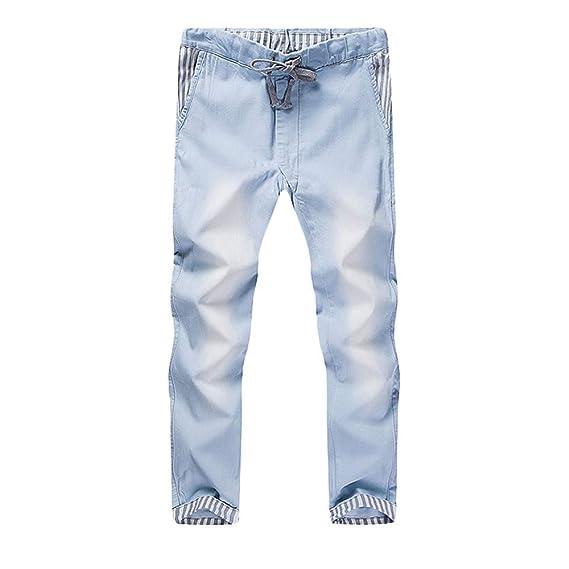 FELZ Jeans para Hombre, Pantalones Vaqueros Elasticos Hombre ...