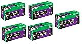16326119 Fujicolor Pro 120, 400H Color Negative Film ISO 400-25 Roll Pro Pack (Green/White/Purple)