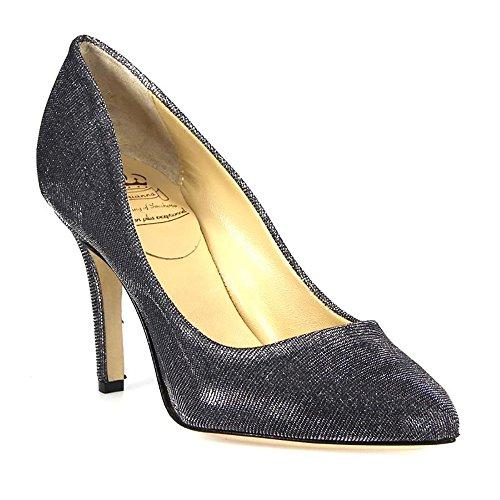 L'ARIANNA DE100290G À Talons Gris Paillettes Chaussures Femme rAqxwrBO