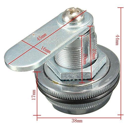 /à 3/chiffres /à 90/degr/és diverses utilisations Combinaison Cylindre /à came Locker Serrure de porte Cabinet tiroir meubles Cabinet Digital Lock