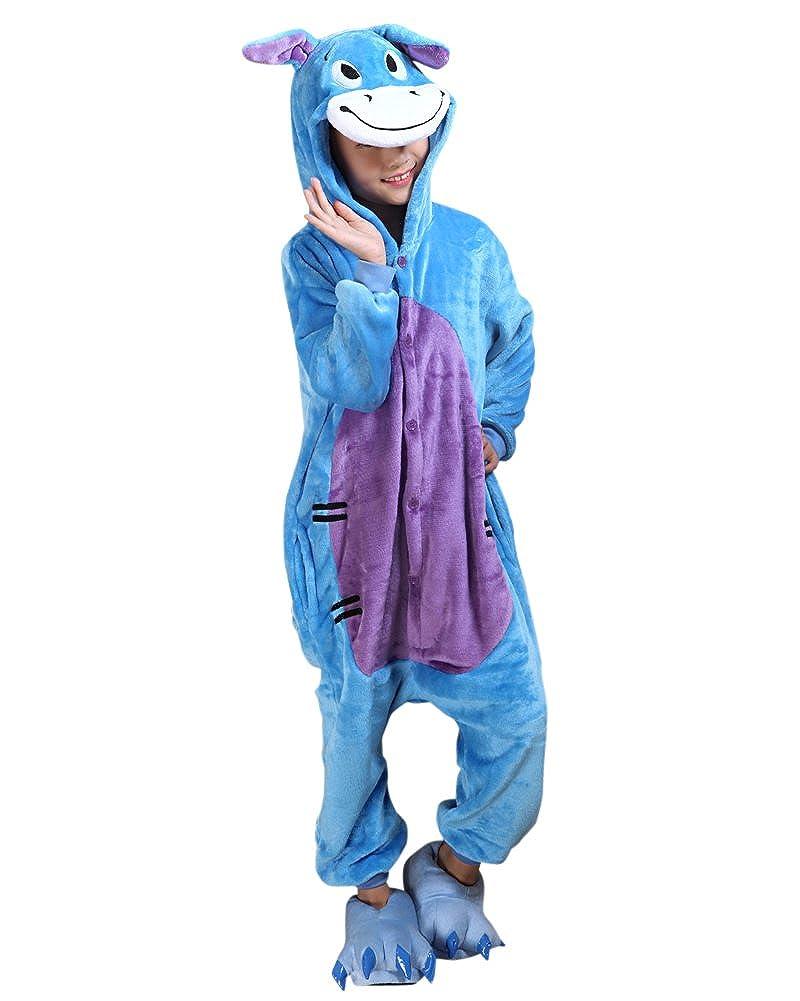 Molly Unisex Bambini Pigiama Fumetto Halloween Costume Cosplay