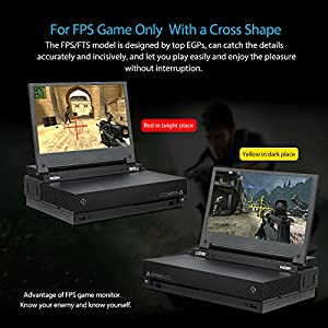 G-STORY 11.6 Inch HDR IPS FHD 1080P Eye-care Portable Gaming Monitor for Xbox One X(not included) With FreeSync, HDMI Cable, Built-in Multimedia Stereo Speaker,UL Certificated AC Adapter