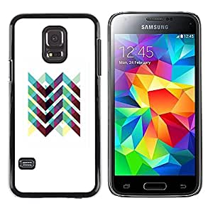 Exotic-Star ( Art Iridescent White Purple ) Fundas Cover Cubre Hard Case Cover para Samsung Galaxy S5 Mini / Samsung Galaxy S5 Mini Duos / SM-G800 !!!NOT S5 REGULAR!