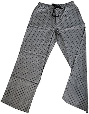 Calvin Klein Logo Mens 100% Cotton Pajama Sleep Pants Sleepwear Grey Medium