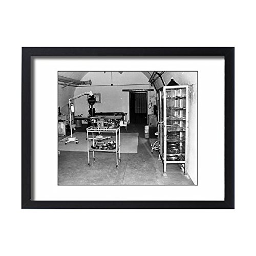 Framed 24x18 Print of WW2 German hospital, Jersey, Channel Islands (14412946) by Prints Prints Prints (Image #3)