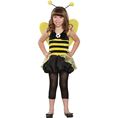 childs queen honey bee halloween costume