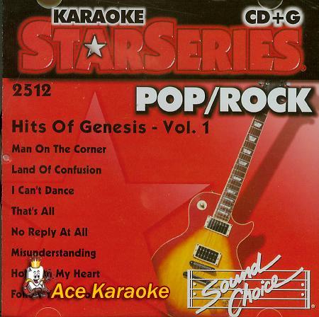 Sound Choice Star CDG SC2512 - Pop/Rock - Hits Of Genesis ()