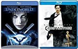 Constantine + Underworld Evolution Blu Ray movie Set - Angels - Vampires & Lycans Series