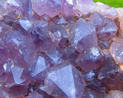 1-2+ Lb AMETHYST Geode Cluster Purple Amethyst Crystals Amethyst Cluster  Druse Quartz Crystal Mineral Cluster from Brazil by GeoSpecimens