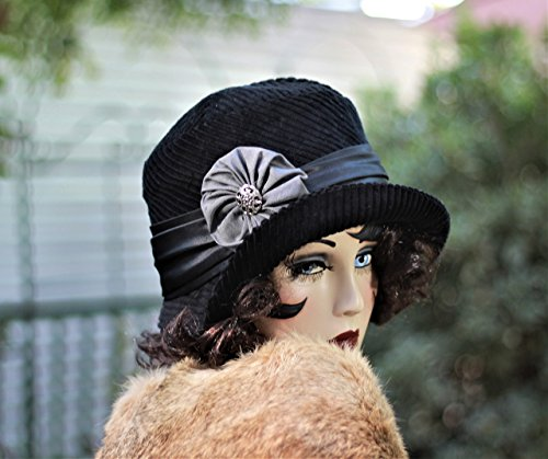 20s Vintage Style Cloche Hat by Hats by Gail