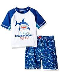 iXTREME Baby-Boys Shark Rash Guard Set