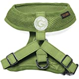 Choke Free Freedom Mesh Harness Specially Made for Small Dogs, Small, Green