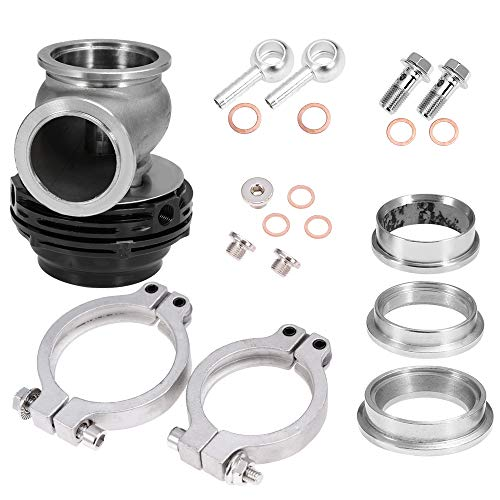 Wastegate For Tial MVS 38mm With V-Band and Flanges All Springs Black