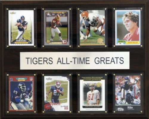 NCAA Clemson Tigers All-Time Greats Plaque