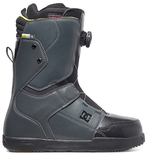 Dc Shoes Boots (DC Scout Snowboard Boots, Size 12, Dark Shadow/Black/Lime)