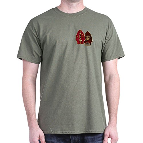 CafePress 2Nd Marine Division T-Shirt - 100% Cotton T-Shirt