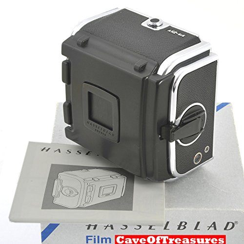 - </b> Hasselblad A-12 Film magazine (6X6-120 Film) with Dark Slide Holder - Chrome #30212