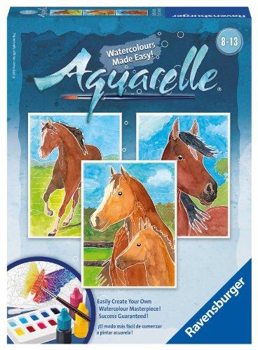 Ravensburger Aquarelle Horses Arts Crafts product image