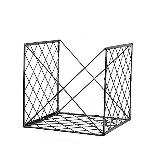Amazon.com: ZHILIAN& Bookcase/Magazine Stand Black Simple ...