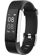 reputable site 4c475 6f83d YAMAY Smartwatch Braccialetto Fitness Activity Tracker Smart Watch Android  iOS Orologio Cardiofrequenzimetro da Polso Contapassi Calorie