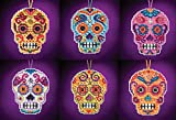 Mill Hill Counted Glass Bead Kits with Charm ~ Calavera Set of 6#16162