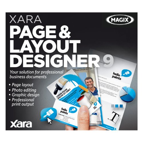 Xara Page and Layout Designer 9 [Download] by MAGIX