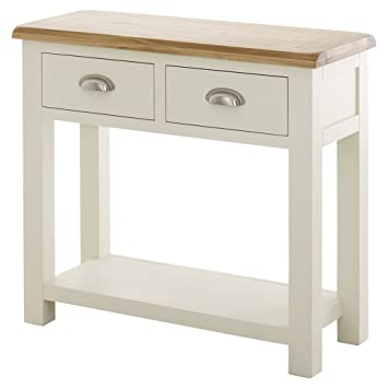 promo code 2b52b 2192e The Furniture Market Cotswold Cream Painted Console Table ...