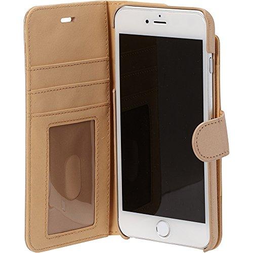 "iPhone 6s Plus case, Prodigee [Wallegee] Gold for iPhone 6 Plus (2014) / 6s Plus (2015) 5.5"" Leather Brieftasche Kartenhalter Schutz dünn Hülle Stück dünner dünn Karte Wallet Credit Card Case 2-in-1"