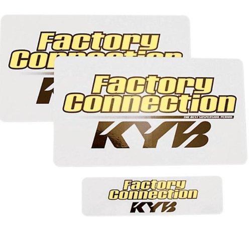 - Factory Connection Fork/Shock Decal Set - KAYABA FCKYBDCLSET