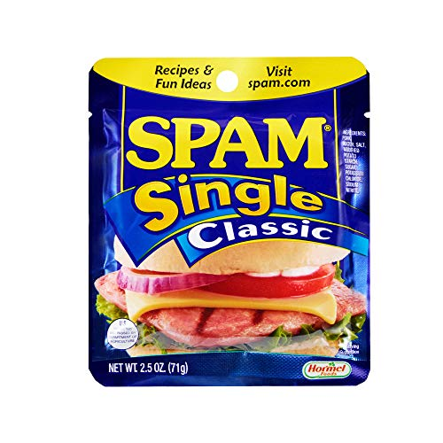 Spam Single Classic, 2.5 Ounce Pouch (Pack of 24)