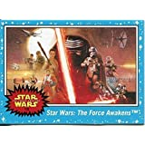 2015 Topps Star Wars Journey to The Force Awakens Blue Starfield 110 Card Set