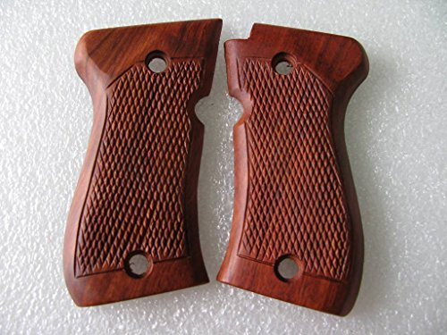 New!! Browning BDA 380 Wooden Grips, Checkered with Frame, Rosewood, Handmade