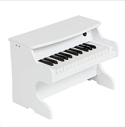Amazon.com: Teclado de madera para niños piano principiante ...