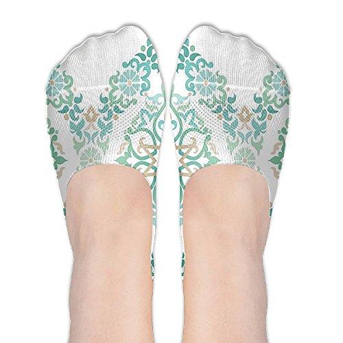 Guiping Ottoman Mosaics In Tones Royal Elegance Victorian Palace Women's Terylene Cotton Stockings