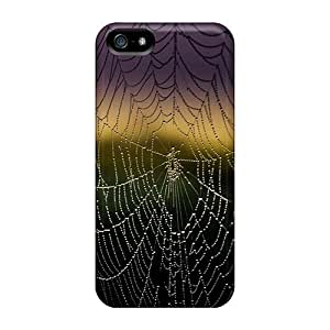 JoinUs Awesome Case Cover Compatible With Iphone 5/5s - Spiderweb Background